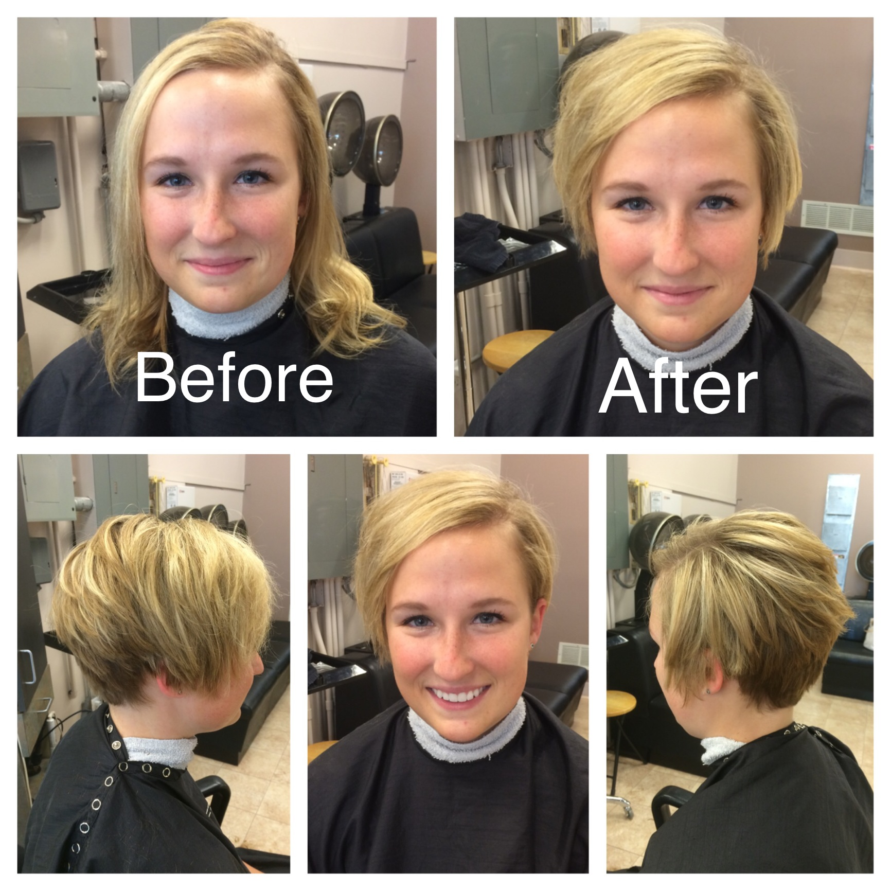 Cinergi salonspa before and after styles by shelby cinergi this is a brave long to shortazing transformation winobraniefo Choice Image